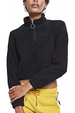 Urban classics Women's Ladies Short Sherpa Troyer Jumper, ( 00007)