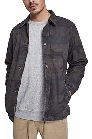 Urban classics Men's Cotton Coach Jacket