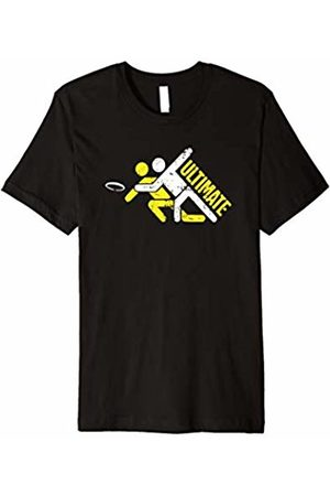 Ultimate Frisbee Disc Gold Apparel Ultimate Frisbee T-Shirt | Extreme Disc Golf Shirt Sports