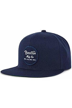 Brixton Men's Wheeler Snapback Baseball Cap, Navy