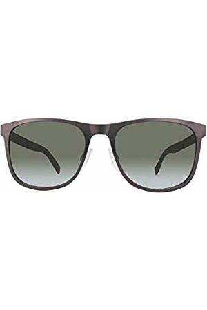 BOSS Orange Unisex-Adult's Bo 0244/S 70 Qwg Sunglasses, Marrón/Verde