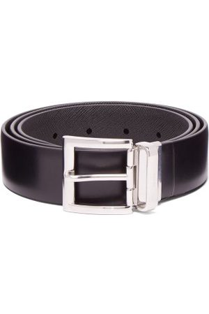 Prada Reversible Leather Belt - Mens
