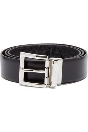 Prada - Reversible Leather Belt - Mens
