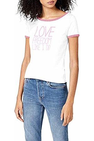 Intimuse Women's T-shirt with Print, (Weiß)