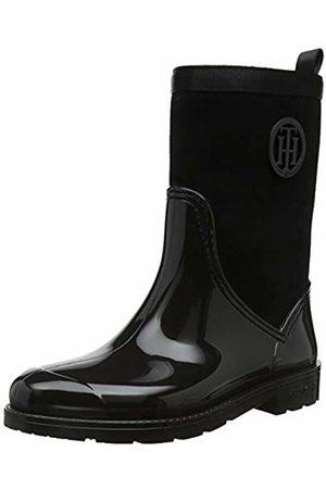 Tommy Hilfiger Women's Warmlined Suede Rain Boot Wellington ( 990)