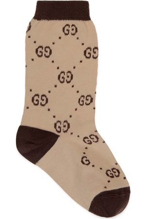 Gucci Children's interlocking G socks