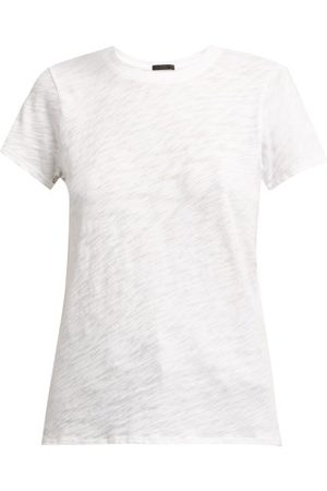 ATM Anthony Thomas Melillo Round Neck Cotton Slub-jersey T-shirt - Womens