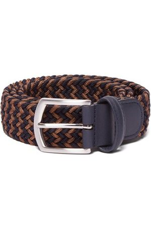 Anderson's - Woven Elasticated Belt - Mens