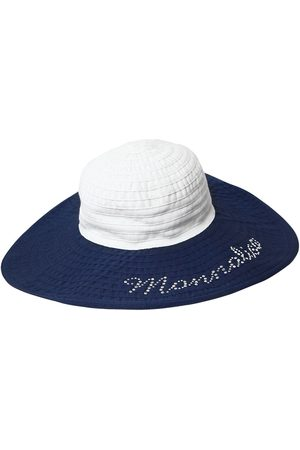 MONNALISA Wide Brim Cotton Hat