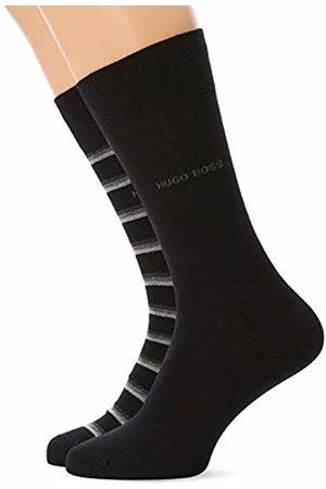 HUGO BOSS Men's RS Stripe CC Calf Socks, ( 001)