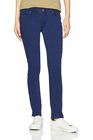 HUGO BOSS Women's J10 Ventura Straight Jeans, (Dark 408)