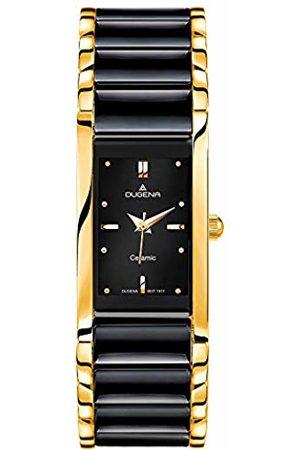 DUGENA Men's Quartz Watch with Dial Analogue Display Quartz Ceramic 4460591