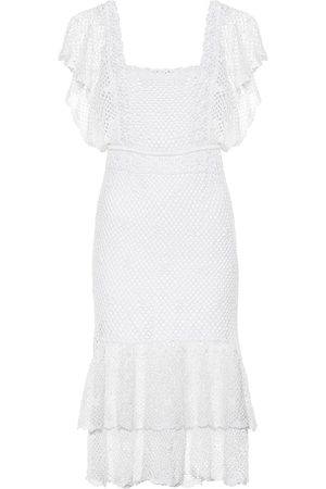 ANNA KOSTUROVA Women Midi Dresses - Florence crochet midi dress