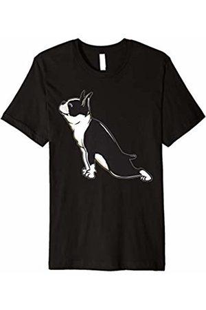 Boston Terrier Does Yoga Boston Terrier Yoga - Funny Boston Terrier Shirt