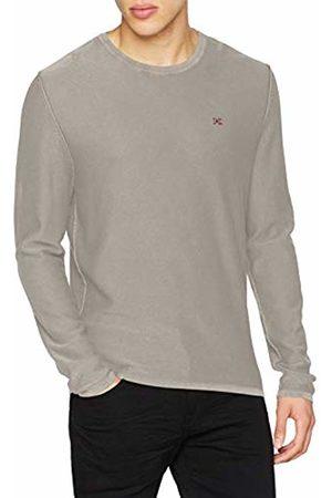 Napapijri Men's Decil Crew-Neck Knitwear Pullover (Med Solid 161)