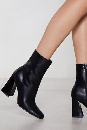 NASTY GAL Women Boots - Flare for Dramatics Heeled Bootie