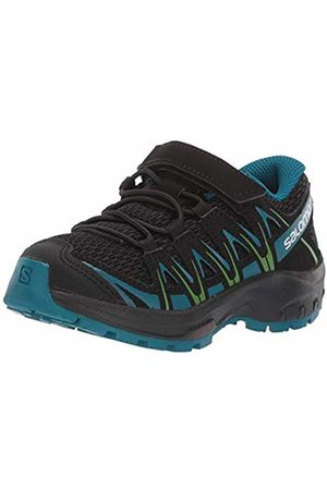 Salomon Kids XA Pro 3D K, Trail Running Shoes/Deep Lagoon/Onlime Lime