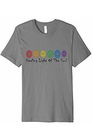Tip Top Tee Men T-shirts - Mandala Chakra Healing Energy Spiritual Yoga Gift T-Shirt