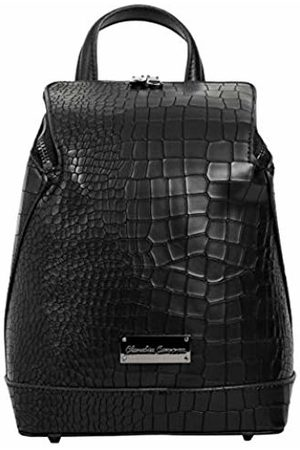 Claudia Canova Women Suitcases & Luggage - Womens Backpack Croc Print Sloped Zip Fastening Backpack ( -Croc)