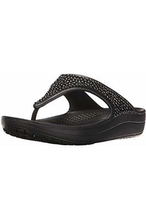 Crocs Women's Sloane Embellished Flip Flip Flops