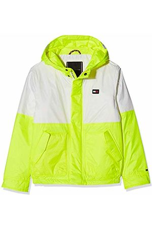 Tommy Hilfiger Boy's Neon Bonded Jacket (Safety 080)