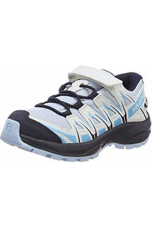 Salomon Kids XA Pro 3D CSWP J, Trail Running Shoes, Waterproof, Cashmere /Illusion /Cyan
