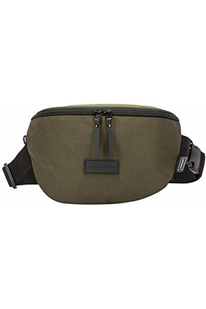 Consigned Mens Elliston Bum Bag Shoulder Bag (Khaki)