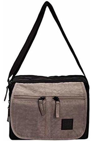 Art Sac Artsac Womens Twin Sectioned Front Pocketed Bag Cross-Body Bag ( - )