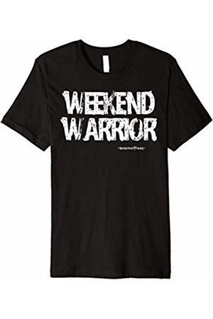 Basic Golf Tees WEEKEND WARRIOR - Basic Funny Golf Gift Idea T-Shirt