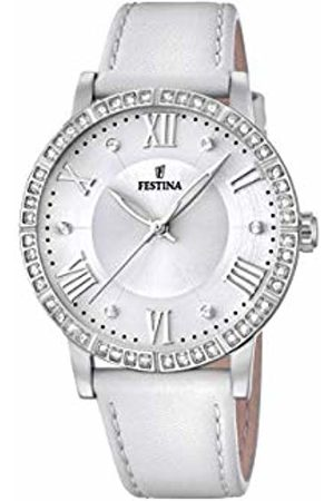 Festina Womens Analogue Quartz Watch with Leather Strap F20412/1