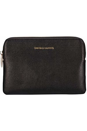 Smith & Canova Womens Leather Zip Top Kindle Cover Laptop Bag