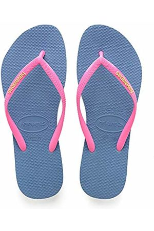 Havaianas Girls' Slim Logo Flip Flops