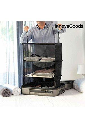 InnovaGoods Estantería Plegable Organizadora De Maletas Packing Organiser, 45 cm