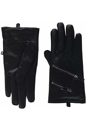 New Look Women's Zip Leather 6035214 Gloves