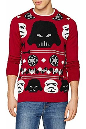 DC Men's KNI-Star Wars Christmas Imperial Knit Jumper, ( 008)