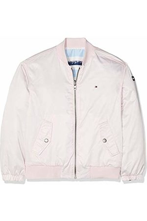 Tommy Hilfiger Girl's Endearing Reversible Bomber Jacket, (Barely 617)