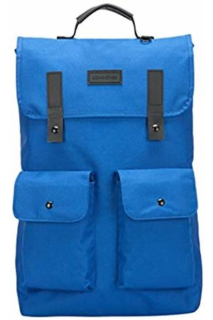 Consigned Unisex-Adult Twin Front Pocketed Backpack Backpack (Cobalt )