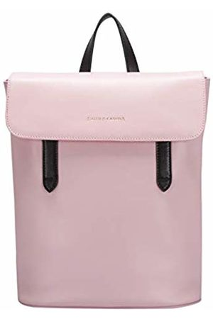 Smith & Canova Womens Flapover Mag Dot Fastening Backpack Backpack