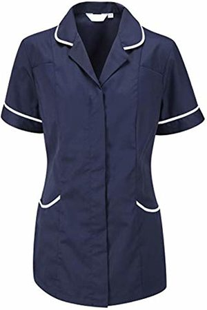 Dream Ladies Round Collar Front Fastening Nurse Health Care Tunic (20