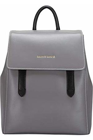 Smith & Canova Womens Backpack - Flapover Strap Fastening Backpack