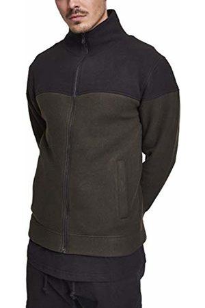 Urban classics Men's Oversize 2-Tone Polar Fleece Jacket