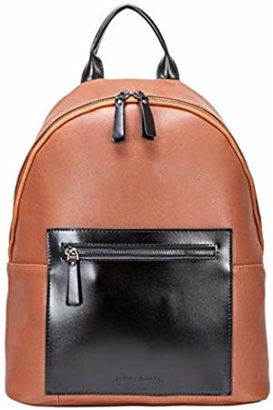 Smith & Canova Mens Leather Backpack Backpack (Tan)