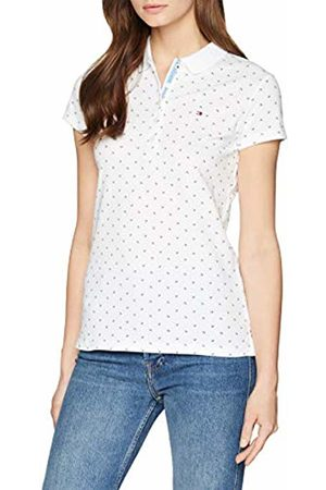 Tommy Jeans Damen Modern Fit  Kurzarm  Polo Shirt