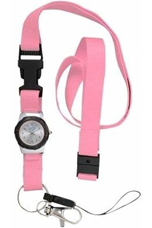 FunkyFobz Integrated Lanyard Watch - Hot Pink Nurse HCA Doctor
