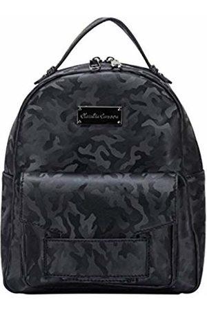 Claudia Canova Womens Backpack Camo Print Zipped Pocketed Backpack