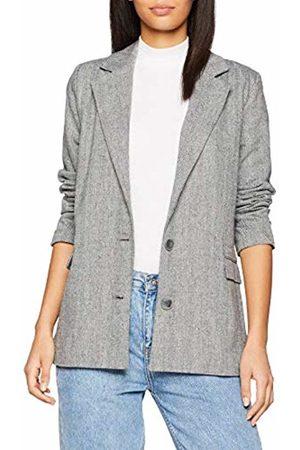 SPARKZ COPENHAGEN Women's SMILLA Blazer Suit Jacket, (Dark Melange)
