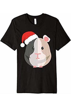 I Love My Guinea Pig Shirts Guinea Pig Santa Hat Shirt Merry Pigmas Cavy Christmas Gift