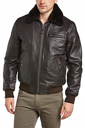 Schott NYC Men's LC 1380 Leather Long Sleeve Jacket