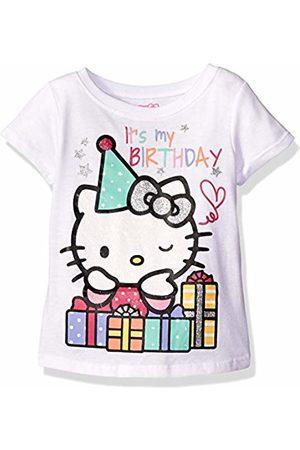 Hello Kitty Little Girls' Toddler Happy Birthday T-Shirt