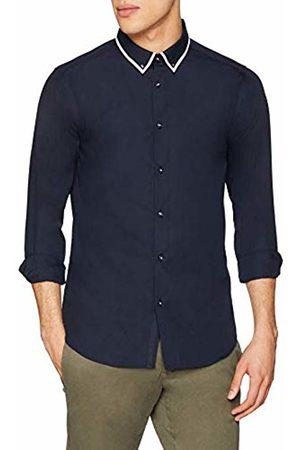 New Look Men's Tipped Collar 5906978 Business Shirt